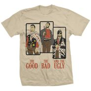 CM Punk Good, Bad and the Ugly T-Shirt