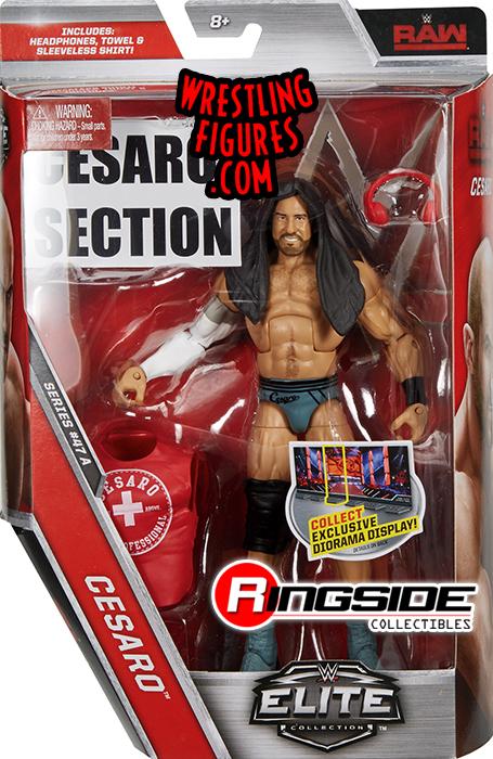 WWE Mattel Elite 47 Cesaro Figure RAW The Bar Complete