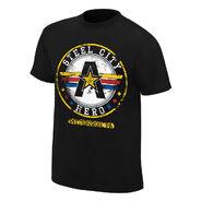 Kurt Angle Steel City Hero T-Shirt