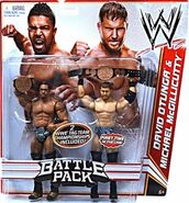 WWE Battle Packs 16 David Otunga & Michael McGillicutty