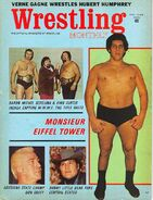 Wrestling Monthly - August 1972