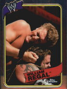 2008 WWE Heritage III Chrome Trading Cards William Regal 46