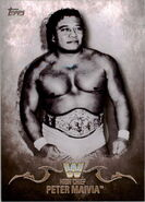 2016 Topps WWE Undisputed Wrestling Cards High Chief Peter Maivia 60