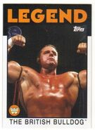 2016 WWE Heritage Wrestling Cards (Topps) The British Bulldog 76