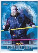 2017 WWE Undisputed Wrestling Cards (Topps) Alexander Wolfe 41