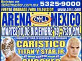 CMLL Martes Arena Mexico (December 10, 2019)