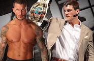 Randy Orton vs. Intercontinental Heavyweight Champion Cody Rhodes (Non-Title Match)