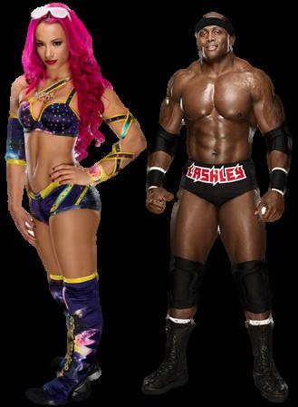 Sasha Banks Bobby Lashley Pro Wrestling Fandom Powered By Wikia