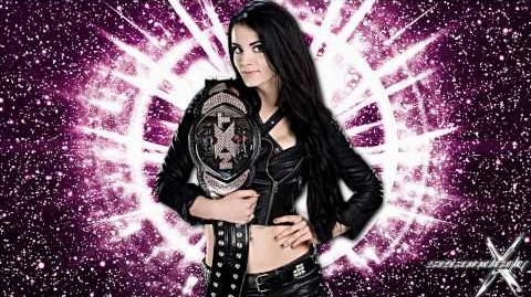 "WWE ""Smashed In the Face"" ► Paige 1st Theme Song"