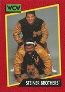 1991 WCW (Impel) Steiner Brothers 114