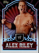 2011 Topps WWE Classic Wrestling Alex Riley 3
