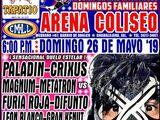 CMLL Guadalajara Domingos (May 26, 2019)