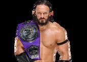 Neville WWE Cruiserweight Champion 2017 2