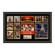Seth Rollins WrestleMania 35 Signed Commemorative Plaque