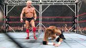 Triple H vs Ric Flair (Cage) 4