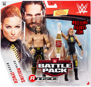 WWE Battle Packs 66 Seth Rollins & Becky Lynch