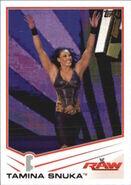 2013 WWE (Topps) Tamina Snuka 39