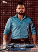 2018 WWE Wrestling Cards (Topps) Sunil Singh 87
