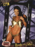 2002 WWE Absolute Divas (Fleer) Lita 81