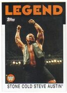 2016 WWE Heritage Wrestling Cards (Topps) Stone Cold Steve Austin 106