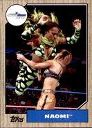 2017 WWE Heritage Wrestling Cards (Topps) Naomi 60