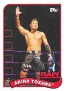 2018 WWE Heritage Wrestling Cards (Topps) Akira Tozawa 2