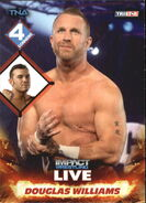 2013 TNA Impact Wrestling Live Trading Cards (Tristar) Douglas Williams 22