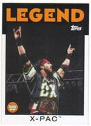 2016 WWE Heritage Wrestling Cards (Topps) X-Pac 110