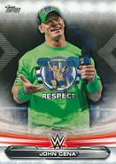 2019 WWE Raw Wrestling Cards (Topps) John Cena 37