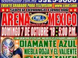 CMLL Domingos Arena Mexico (October 7, 2018)