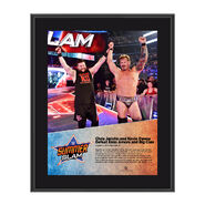 Chris Jericho and Kevin Owens SummerSlam 2016 10 x 13 Photo Plaque