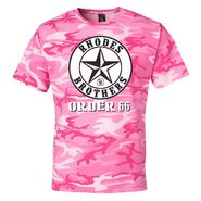 Dustin Rhodes Camo Pink T-Shirt