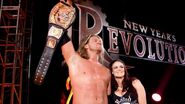 New Years Revolution 2006 Edge wins WWE Championship