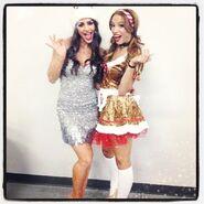 09 - Veronica Lane and Sasha Banks