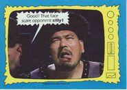 1987 WWF Wrestling Cards (Topps) Mr. Fuji 75