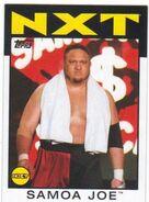 2016 WWE Heritage Wrestling Cards (Topps) Samoa Joe 69