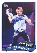 2018 WWE Heritage Wrestling Cards (Topps) Tyler Breeze 87