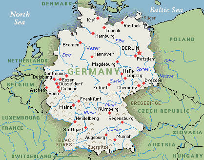 Image Germany Mapjpg Pro Wrestling FANDOM Powered By Wikia - Germany map dortmund