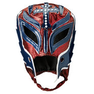 Rey Mysterio Royal Rumble 2019 Maroon-Blue Replica Mask