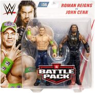 WWE Battle Packs 56 John Cena & Roman Reigns
