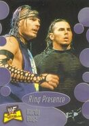 2001 WWF The Ultimate Diva Collection (Fleer) Hardy Boyz 61