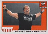 2008 WWE Heritage IV Trading Cards (Topps) Tommy Dreamer 50