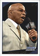 2009 WWE (Topps) Theodore Long 54