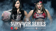 AJ vs Nikki - Survivor Series 2014