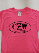 CZW Pink Logo T-Shirt