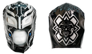 Rey Mysterio Black Silver Replica Mask