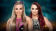 TLC 2018 Natalya v Riott