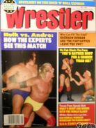 The Wrestler - May 1987