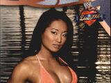 2004 WWE Divas 2005 (Fleer) Gail Kim (No.26)