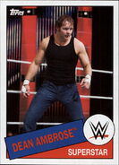 2015 WWE Heritage Wrestling Cards (Topps) Dean Ambrose 71